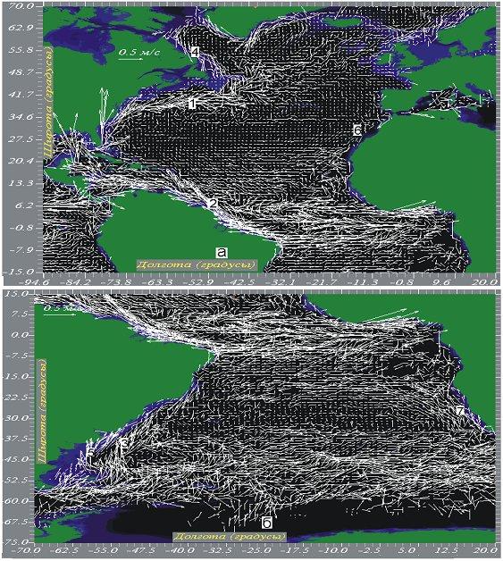 Атлантического океана.