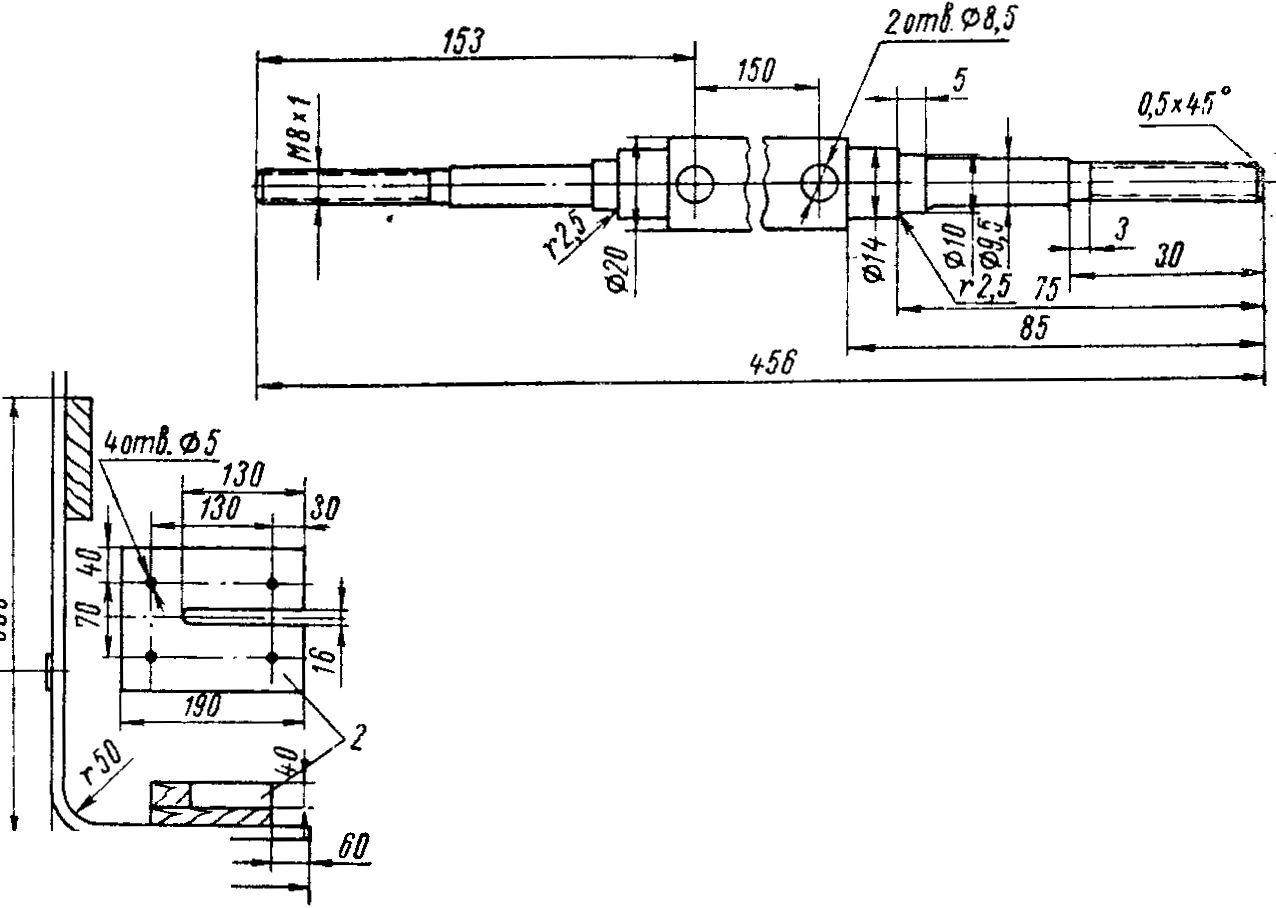 Как сделать тележку для лодочного мотора своими руками
