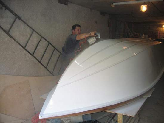 Моторная лодка своими руками из фанеры чертежи